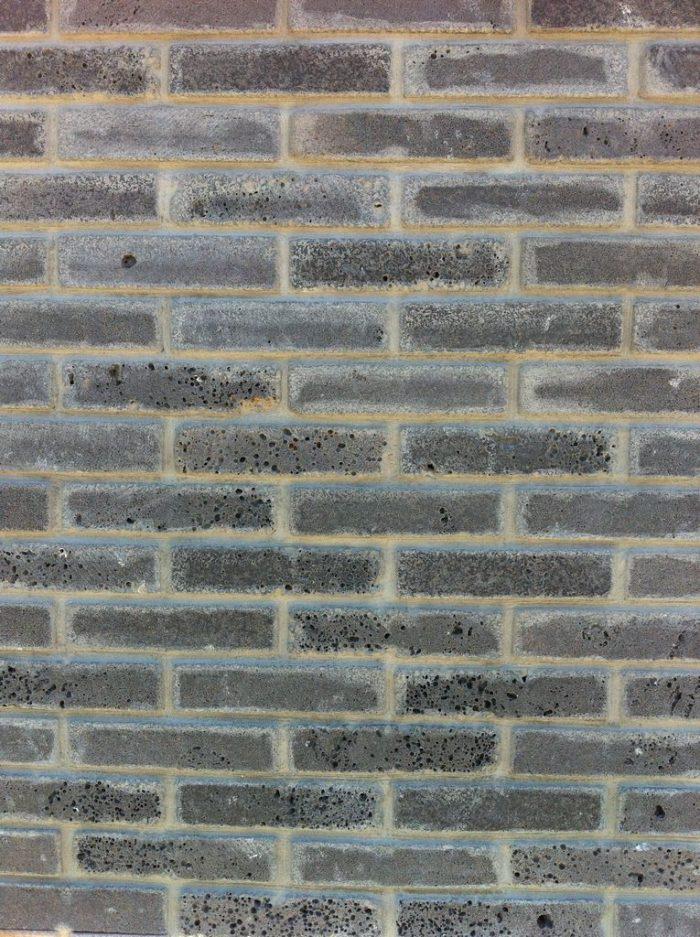 דוגמה לחיפוי קירות באבני בריק